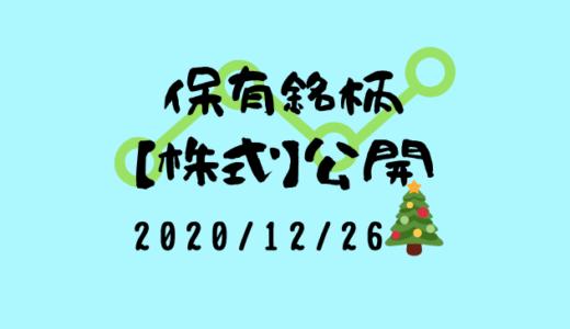 【2020年12月】日本株・外国株の保有銘柄および損益公開!