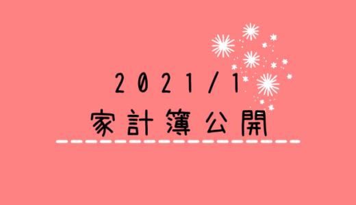 【2021年1月】30代共働き(妊婦)+2児の4人家族の家計簿公開!~貯蓄率▲60.1%~