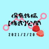 【2021年2月】日本株・外国株の保有銘柄および損益公開!