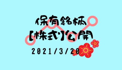 【2021年3月】日本株・外国株の保有銘柄および損益公開!