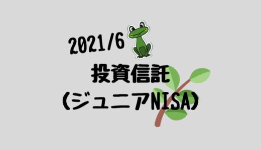【2021年6月】ジュニアNISAと投資信託の運用実績報告